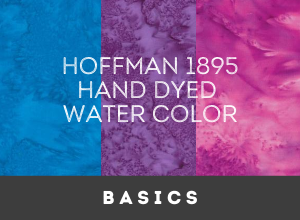 Hoffman 1895 Hand dyed Watercolors