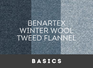 Benartex Winter Wool Tweed Flannel