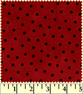 Maywood Flannel Woolies F18506 R Polka Dots