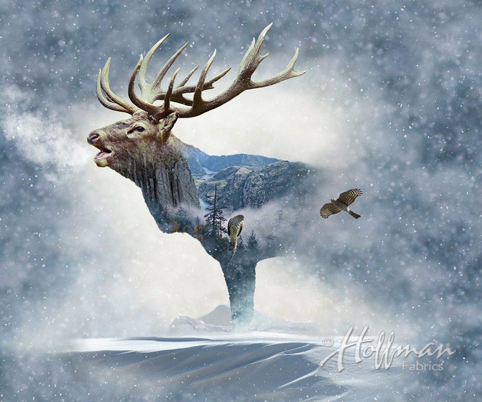 Call Of The Wild Elk Mountain P4397 483 Fog Hoffman