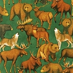Kaufman Copper Ridge 9151-44 Forest Wildlife