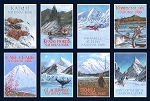 Alaskas National Parks Digital 3024 Scenes, Jon Van Zyle by P & B Textiles