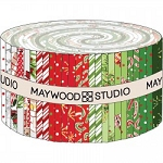 All the Trimmings Jelly Roll Strips, Maywood Studio