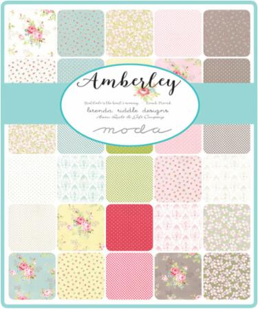 Amberley Layer Cake Brenda Riddle By Moda Hingeley Road