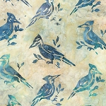 Wildlife Sanctuary 5 Batik 17779 14 Natural Bird, Kaufman