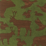 Timber Lodge Flannel 12617  Nature Animals, Kaufman