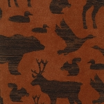 Timber Lodge Flannel 12617  Earth Animals, Kaufman