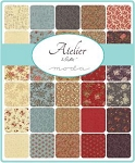 Atelier Charm Pack, 3 Sisters by Moda