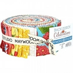 Back Porch Jelly Roll Strips, Maywood Studio
