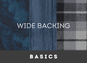 Wide Backings