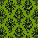 Black Magic 9681-66 Halloween Tonal Lime, Henry Glass