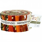 Bountiful Jelly Roll Strips, Maywood Studio