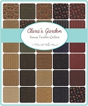 Claras Garden Charm Pack, Kansas Troubles by Moda