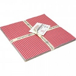 Beautiful Basics Classic Check Layer Cake Squares, Maywood Studio