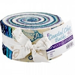 Coastal Chic Jelly Roll Strips, Maywood Studio
