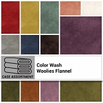 Color Wash Woolies Flannel Jelly Roll Strips, Maywood Studio