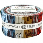 Cozy Cabin Jelly Roll Strips, Maywood Studio