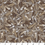 DT 9560 9C 1 Wildlife Feathers Brown/Grey