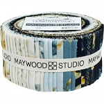 English Countryside Jelly Roll Strips, Maywood Studio
