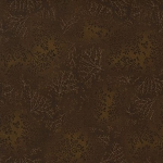 Kaufman 5573 Fusions Tone on Tone Leaf Print 5573 175 Nutmeg