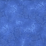 Kaufman 5573 Fusions Tone on Tone Leaf Print 5573 82 Blue Jay