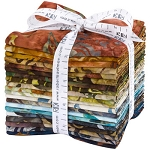 Wildlife Sanctuary 5 Batik Fat Quarter Collection, Kaufman