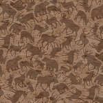 Woodland Haven Flannel F1735 33 Animal Silhouette, Henry Glass