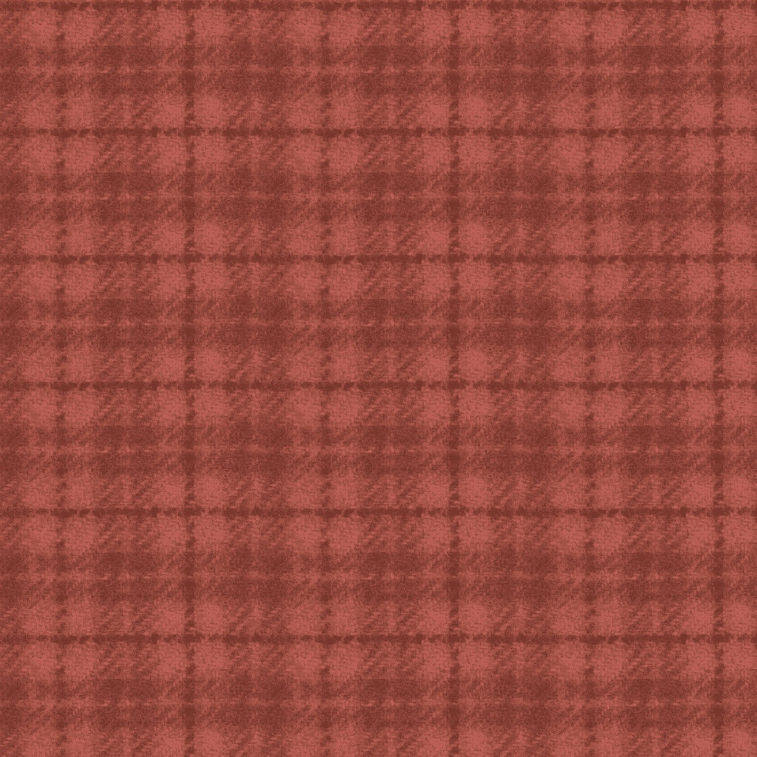 Maywood Flannel Woolies F18502 RO2 Red Orange Plaid