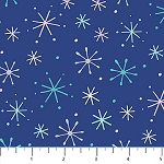 Frost Bite Flannel F22801 48 Blue Sparkle,  Northcott