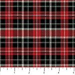 Cardinal Woods Flannel F22839 24 Plaid, Northcott