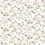 Wild Rose Flannel F7893 WP Little Buds White, Maywood Studio