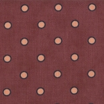 Moda Farmers Market 2086 16 Plum Purple Circle Dots