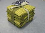 Fat 10 Your Stash Maywood Woolies Flannel Medium Green Fat Quarter Bundle