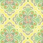 Flora Paisley Flower 25053 13 Sunflower Moda