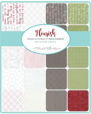 Flourish Charm Pack Piece N Quilt By Moda Hingeley Road Quilting