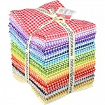 Beautiful Basics Classic Check Fat Quarter Collection, Maywood Studio