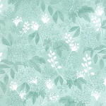 Fresh Cut 30392 15 Bluebell Bouquet Aqua, Basic Grey by Moda