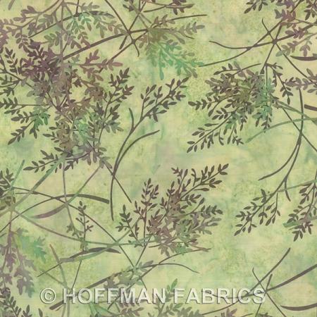 839 Herb 331 Green Hoffman Batik Fabric