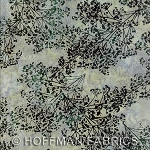 Hoffman Hand Painted Bali Batik Christmas G2235 449 Waterfall