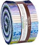 Greenhouse Batik Jelly Roll Strips, Kaufman