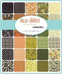 Hallo Harvest Charm Pack, Basic Grey by Moda