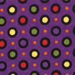Happy Howloween 19554 15 Purple Dots, Deb Strain by Moda