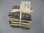 Fat 10 Your Stash Maywood Woolies Flannel Cream/Blues Fat Quarter Bundle