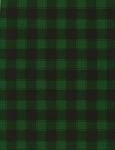 Holiday C5784 Green Buffalo Check, Timeless Treasures