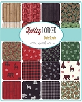Holiday Lodge Charm Pack, Deb Strain by Moda
