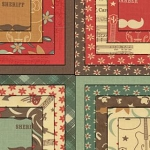 Honky Tonk Charm Pack,  Eric & Julie Comstock by Moda