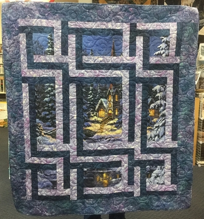 Church Sidelines Quilt Kit Northcott Hingeley Road Quilting