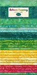 Island Hopping Batik Jelly Roll Strips, Wilmington Prints