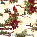 Winter Wishes K7171 20G Natural/Gold, Hoffman