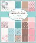 Kindred Spirits Jelly Roll, Bunny Hill by Moda